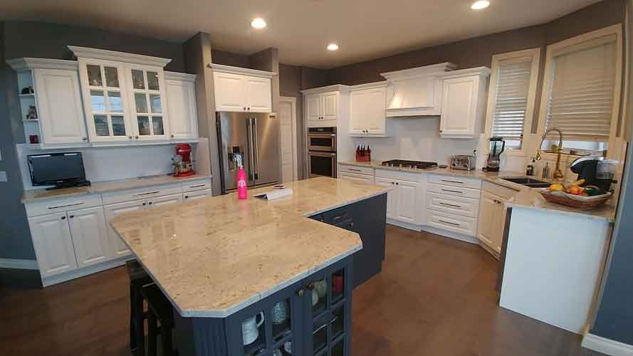 Cabinet Refacing Services Process